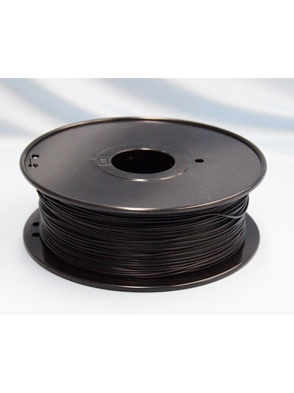 1.75mm ABS Filament with Spool - Black - 1kg
