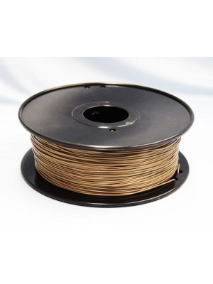 1.75mm ABS Filament with Spool - Gold - 1kg
