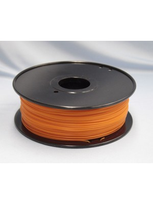 1.75mm PLA Filament with Spool - Orange - 1kg