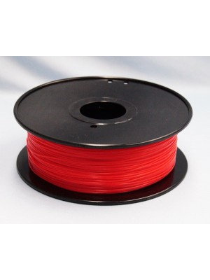1.75mm PLA Filament with Spool - Red - 1kg