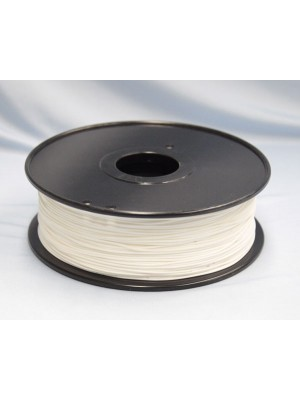 1.75mm PLA Filament with Spool - White - 1kg