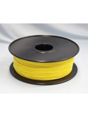 1.75mm PLA Filament with Spool - Yellow - 1kg