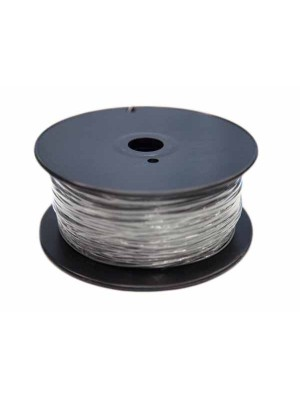 1.75mm ABS Filament with Spool - Silver - 1kg