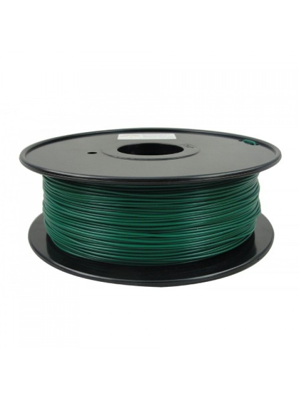 1.75mm PLA Filament with Spool - Christmas Green - 1kg