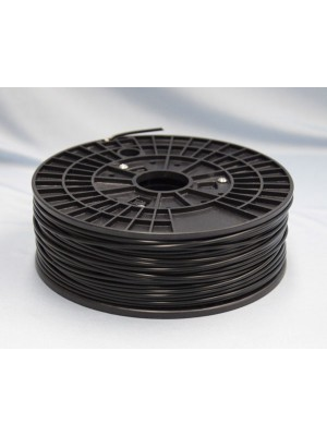 3.0mm ABS Filament with Spool - Black - 1kg
