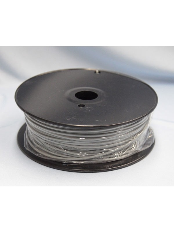 3.0mm ABS Filament with Spool - Grey - 1kg
