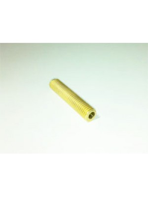M6 Brass Barrel, 3mm x 40mm