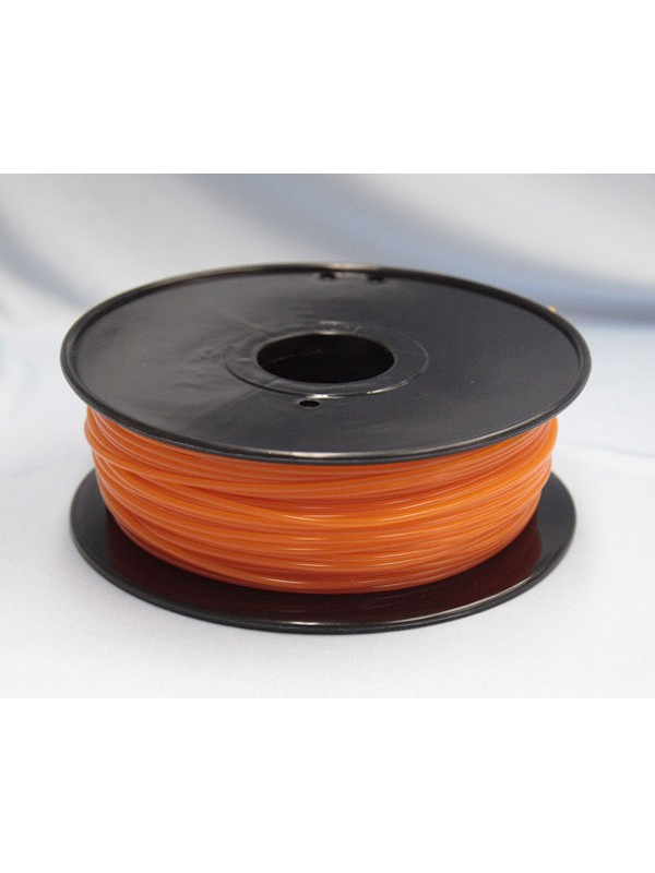 3.0mm PLA Filament with Spool - Orange - 1kg