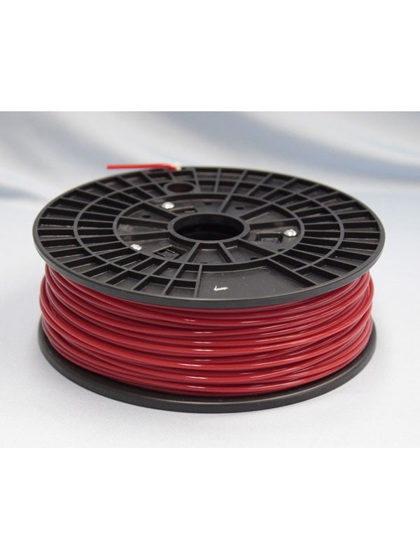 3.0mm PLA Filament with Spool - Red - 1kg
