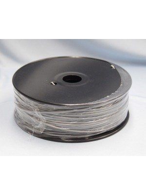 3.0mm ABS Filament with Spool - Silver - 1Kg