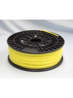 3.0mm ABS Filament with Spool - Yellow - 1kg