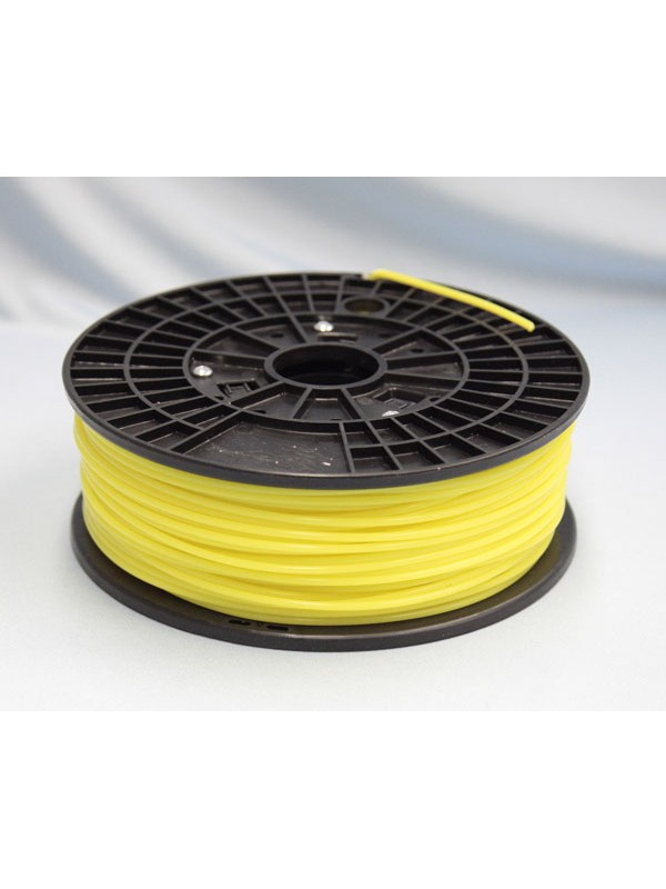 3.0mm PLA Filament with Spool - Yellow - 1kg