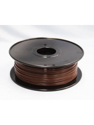 1.75mm PLA Filament with Spool - Wood - 1kg