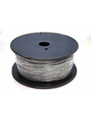 1.75mm PLA Filament with Spool - Silver - 1kg